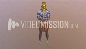 Nebuchadnezzar's Statue – MultiMaterial